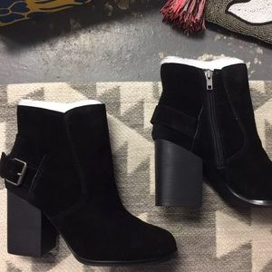 Sbicca Suede Black buckle Booties various sizes